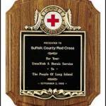 Plaque – Solid American Walnut Plaque, Coventry Style 1