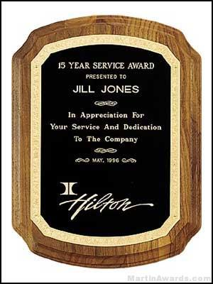Coventry Plaques – American Walnut with Florentine Border 1