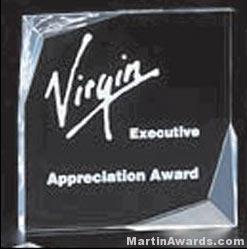 Offset Bevel Freestanding Acrylic Award 1