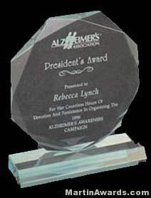 Octagon Acrylic Awards