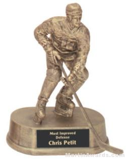 Hockey Gold Resin Trophy 1