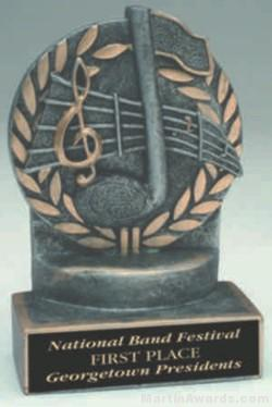 Music Wreath Trophies