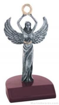 Female Victory Silver Resin Trophies