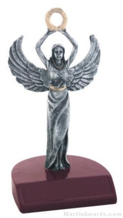 Female Victory Silver Resin Trophies 1