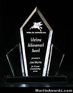 Lumina Presidential Acrylic Award 1