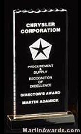 Ice Top Reflection Acrylic Awards 1