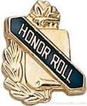 "3/8"" Honor Roll School Award Pins"