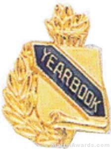 3/8″ Yearbook Scholastic Award Pins 1