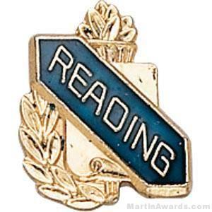 """3/8"""" Reading School Award Pins"""