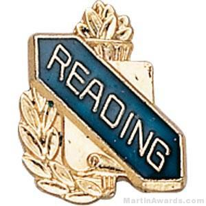 3/8″ Reading School Award Pins 1