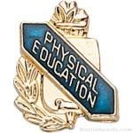 3/8″ Physical Education School Award Pins 1
