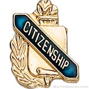 """3/8"""" Citizenship School Award Pins"""