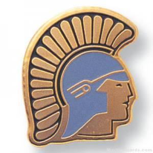 "11/16"" Trojan Mascot Lapel Pin"