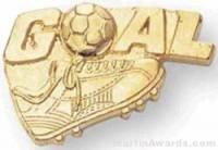 Goal Custom Lapel Pins