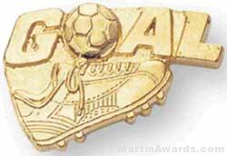 Goal Custom Lapel Pins 1