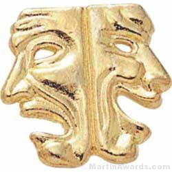 7/8″ Chenille Letter Insert Pin Drama Mask 1
