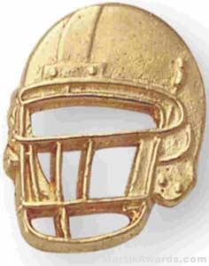 Football Helmet Pin