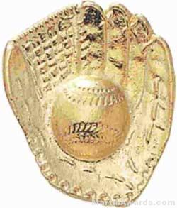 """1"""" Softball Gloves Chenille Letter Insert Pins"""