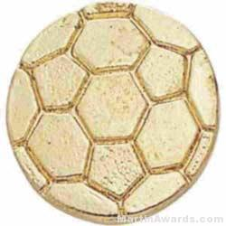 "3/8"" Small Soccer Ball Chenille Pin"