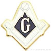 Masonic Enameled Lapel Pins