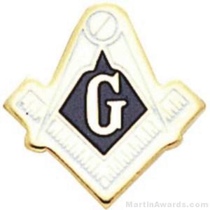 Masonic Enameled Lapel Pins 1