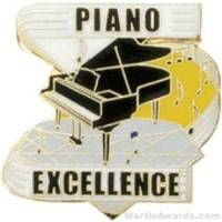 Piano Excellence Award Lapel Pin