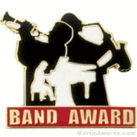 Band Award Lapel Pin 1