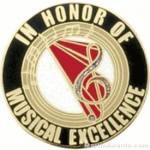 In Honor of Musical Excellence Award Lapel Pin 1