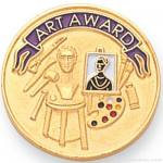 "7/8"" Art Award Lapel Pin"