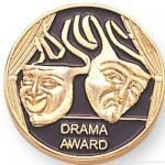 """7/8"""" Drama Award Lapel Pin"""