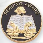 "7/8"" Reading Award Lapel Pin"