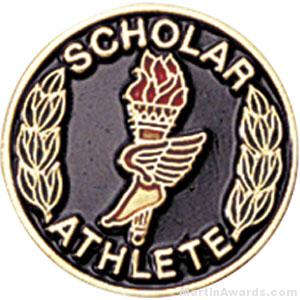 Scholar Athlete Pin