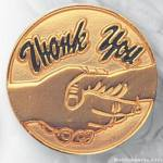 "3/4"" Thank You Lapel Pin"