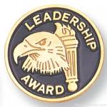 3/4″ Leadership Award Lapel Pin 1