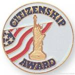 "7/8"" Citizenship Award Lapel Pin"