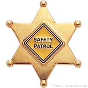 7/8″ Safety Patrol Custom Lapel Pins 1