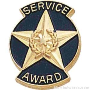 9/16″ Service Award Enameled Lapel Pins 1
