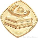 5/8″ Lamp Or Learning Custom Lapel Pins 1