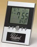 Desk Award - Easel Back Multi-Function Digital Clock