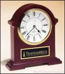 Clock Award - Napoleon Clock Hand Rubbed Mahogany Finish