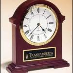 Clock Award – Napoleon Clock Hand Rubbed Mahogany Finish 1