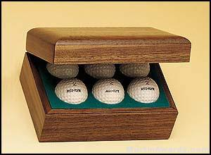 Hinged Golf Ball Boxes 1