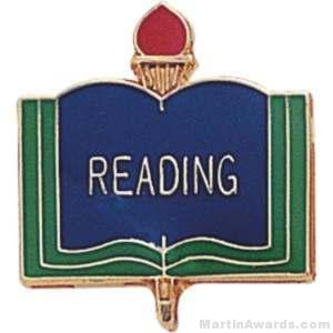3/4″ Reading School Award Pins 1