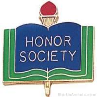 "3/4"" Honor Society School Award Pins"