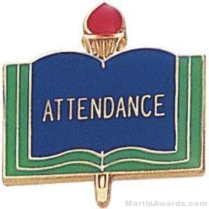 "3/4"" Attendance School Award Pins"