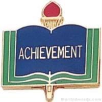 "3/4"" Achievement School Award Pins"